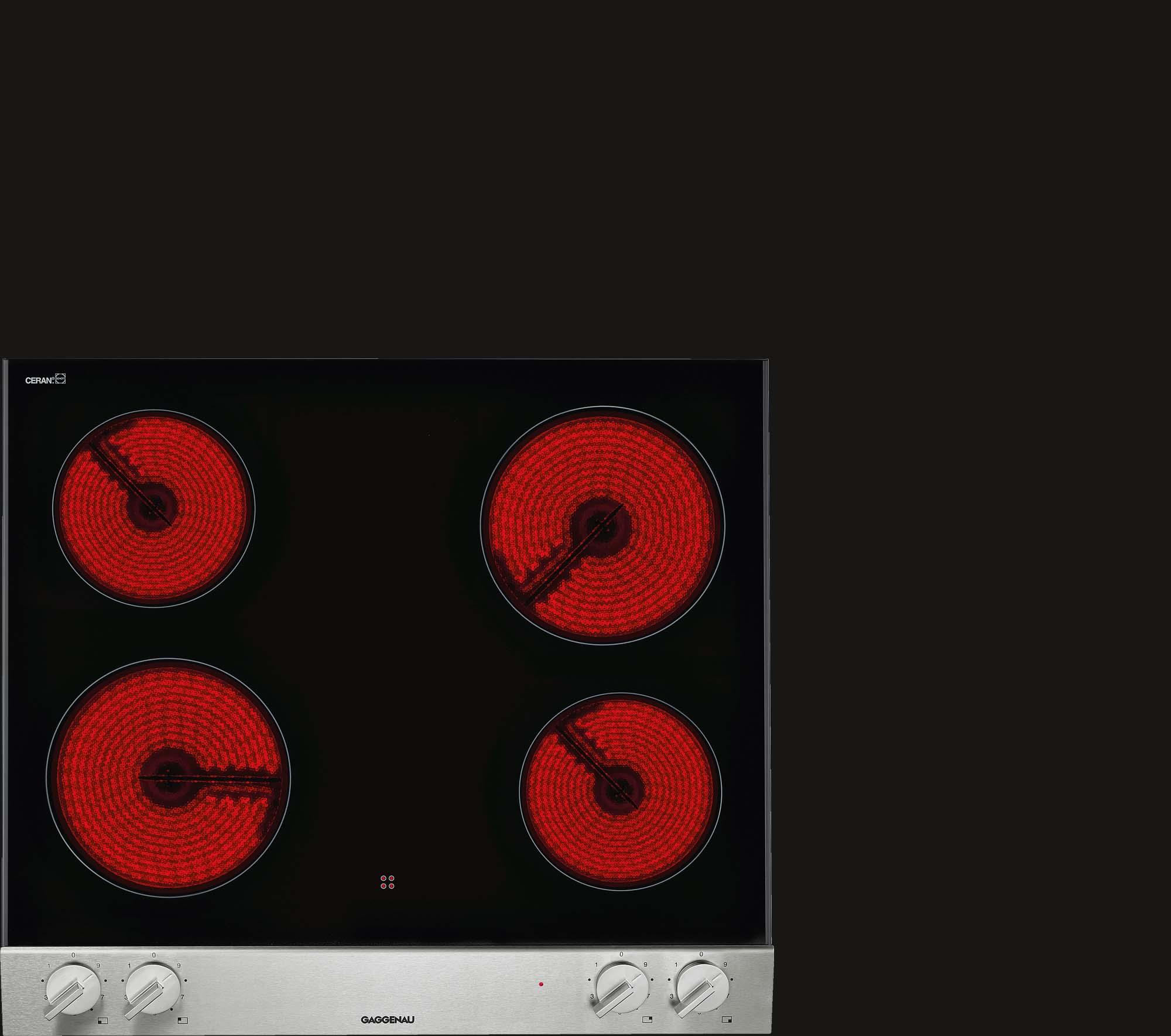 Стеклокерамическая варочная панель GAGGENAU VE260114