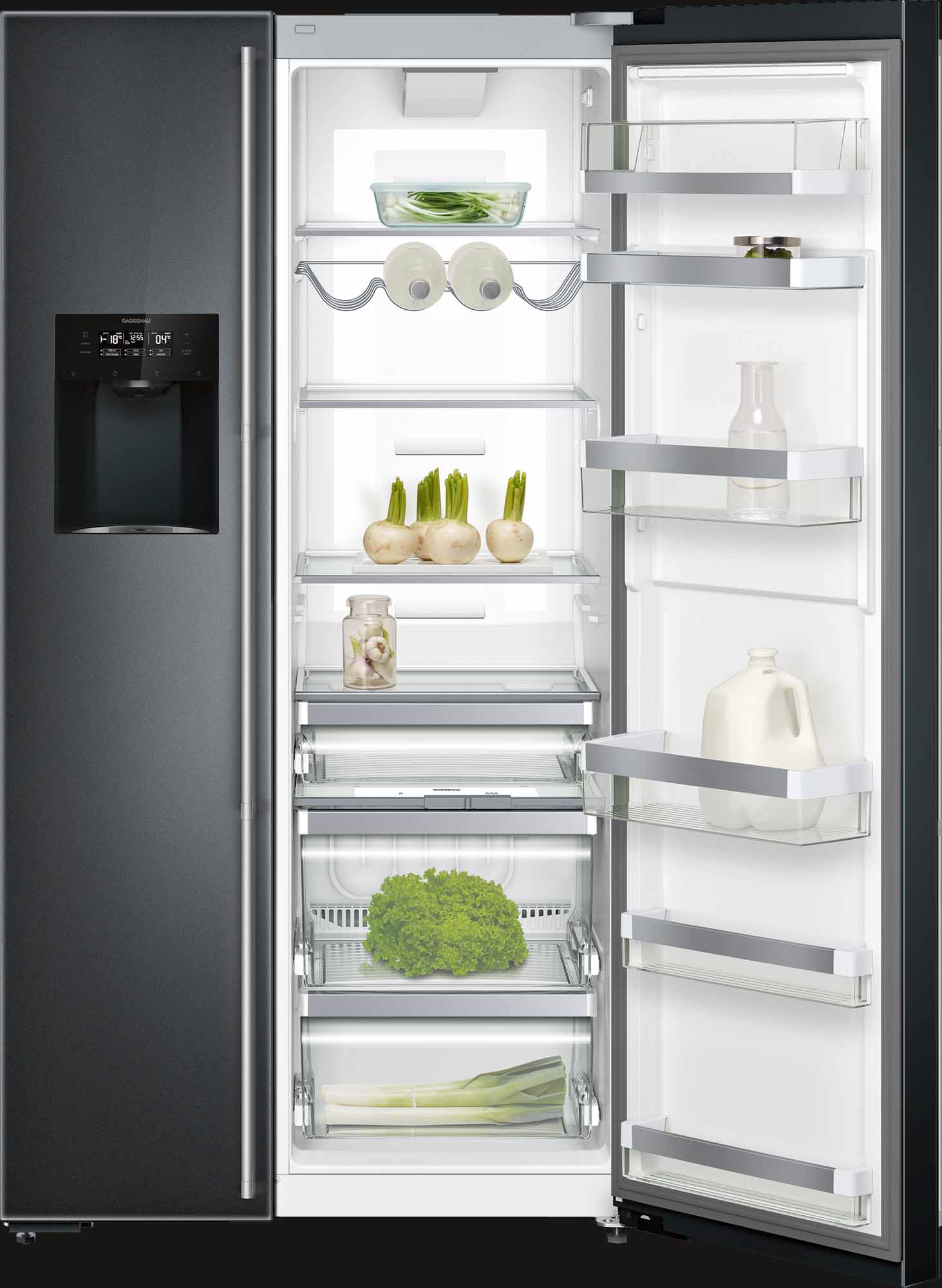 Холодильник GAGGENAU Side-by-Side серии 200 RS295355
