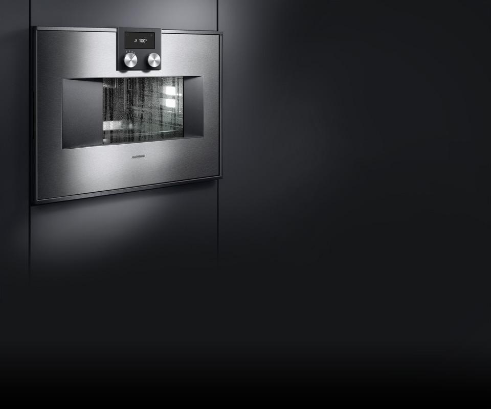 Комбинированный духовой шкаф-пароварка BS470111 Gaggenau