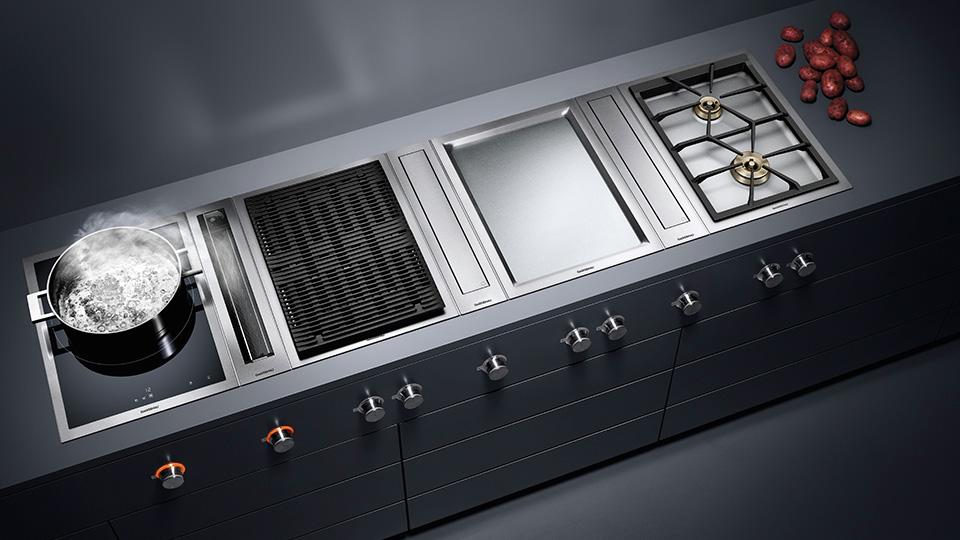 Индукционная варочная панель серии vario 400 VI414111 GAGGENAU