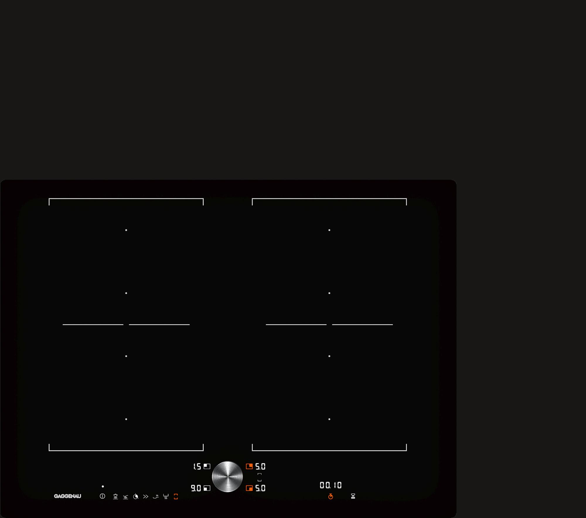Индукционная варочная панель серии 200 CI272101 GAGGENAU