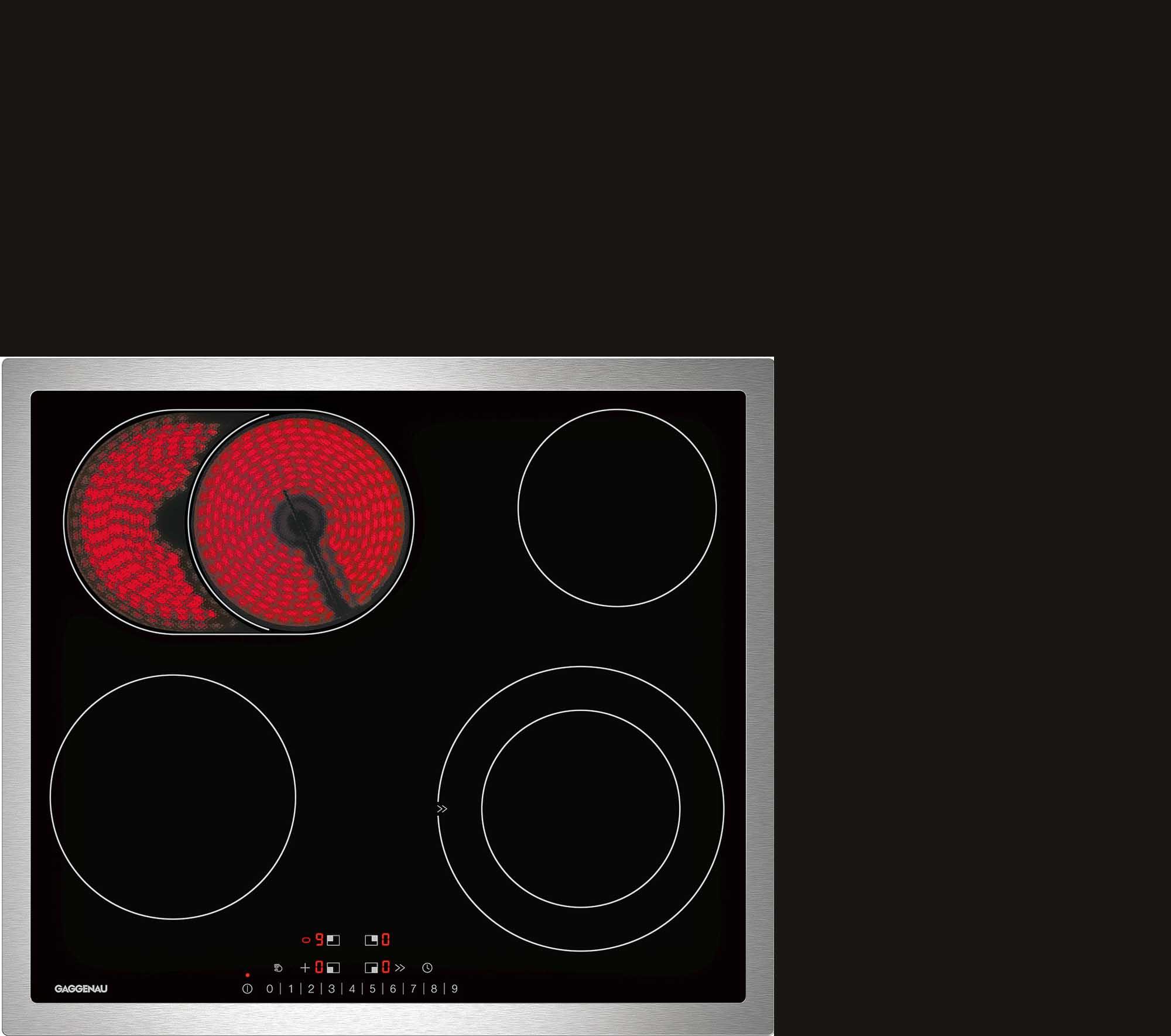 Стеклокерамическая варочная панель GAGGENAU CE261114